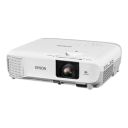 Epson PowerLite W39 - 3LCD projector - portable - LAN