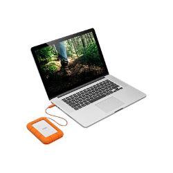 LaCie Rugged USB-C - hard drive - 1 TB - USB 3.1 Gen 1
