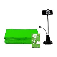 Hamilton Buhl STEAM Education Green Screen Production Kit - with green scre