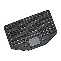 Havis Rugged In-Vehicle PKG-KB-113 - keyboard - with touchpad
