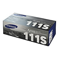 Samsung MLT-D111S - black - original - toner cartridge (SU814A)