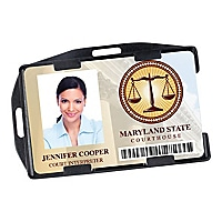 Brady People ID Open-Face - card holder