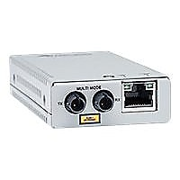 Allied Telesis AT MMC200/ST - fiber media converter - 100Mb LAN