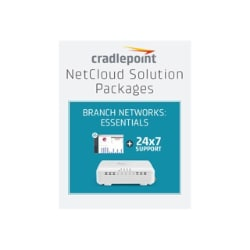 Cradlepoint NetCloud Essentials for Branch LTE Adapters (Standard) - subscr