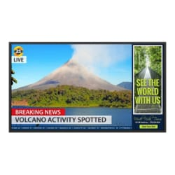 "Planar Simplicity Series SL5564K 55"" LED display"
