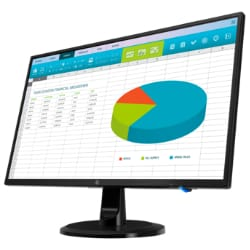 HP N246v - LED monitor - Full HD (1080p) - 23.8""