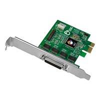 SIIG DP CyberSerial 4S PCIe - adaptateur série