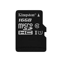 Kingston Canvas Select - flash memory card - 16 GB - microSDHC UHS-I