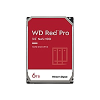 WD Red Pro NAS Hard Drive WD6003FFBX - disque dur - 6 To - SATA 6Gb/s