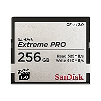 SanDisk Extreme Pro - flash memory card - 256 GB - CFast 2.0