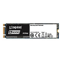 Kingston A1000 - solid state drive - 480 GB - PCI Express 3.0 x2 (NVMe)
