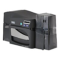 FARGO DTC4500e - plastic card printer - color - dye sublimation/thermal res