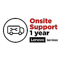 Lenovo On-Site - extended service agreement - 1 year - School Year Term - o