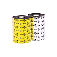 Wax/Resin Ribbon, 1.3inx244ft, 3200 High Performance, 0.5in core