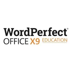 WordPerfect Office X9 - license - 1 user