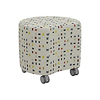 MooreCo Blossom Soft Seating - ottoman