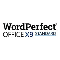 WordPerfect Office X9 Standard Edition - license - 1 user