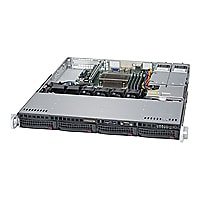 Supermicro SuperServer 5019S-MR - rack-mountable - no CPU - 0 GB