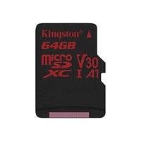 Kingston Canvas React - flash memory card - 64 GB - microSDXC UHS-I