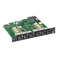 Black Box Pro Switching System Multi Switch Card, CAT6, Dual 2-to-1 - expan