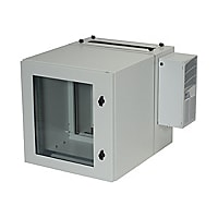 Black Box ClimateCab NEMA 12 Wallmount Cabinet with Air Conditioning cabine