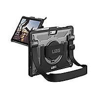 UAG Rugged Case for Microsoft Surface Go w/ Handstrap - Plasma Ice - back c