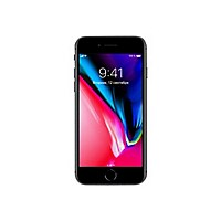Apple iPhone 8 - space gray - 4G LTE, LTE Advanced - 256 GB - GSM - smartph