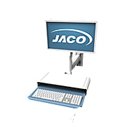 """Jaco WA-60-ST Wall Arm with Standard 2"""" Track Wall Extrusion"""