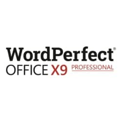 WordPerfect Office X9 Professional Edition - license - 1 user