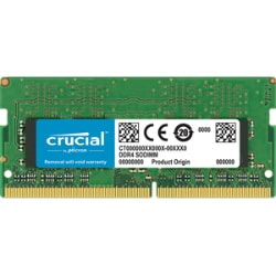 Crucial - DDR4 - 4 GB - SO-DIMM 260-pin - unbuffered