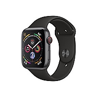 Apple Watch Series 4 (GPS + Cellular) - space gray aluminum - smart watch w