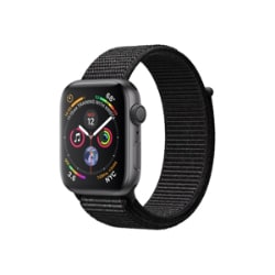 Apple Watch Series 4 (GPS) - space gray aluminum - smart watch with sport l
