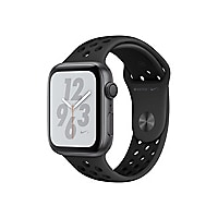 Apple Watch Nike+ Series 4 (GPS) - space gray aluminum - smart watch with N