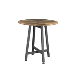 Vari Standing Round Table (Reclaimed Wood)