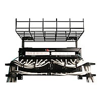 Siemon Cable Tray Rack - cable management rack - 2U