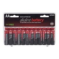 Monoprice batterie - 24 x type AA - Alcaline