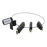 Kramer AD-RING-3 - video / audio adapter kit - DisplayPort / HDMI