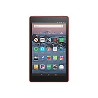 "Amazon Fire HD 8 8"" 16GB Tablet with Alexa Hands-Free Mode - Red"