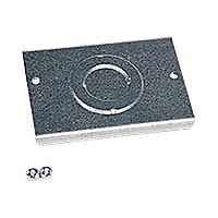 Wiremold Evolution Series Knockout Plate - in-floor box cover