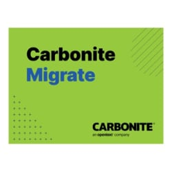 CARBONITE MIGRATE STD WIN LNX 60DAY