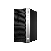 HP ProDesk 400 G5 - micro tower - Core i3 8100 3.6 GHz - 4 GB - 500 GB - US