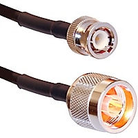 Ventev 25' LMR-240 BNC Male Straight/N Male Straight Cable