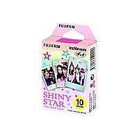 Fujifilm Instax Mini Shiny Star color instant film - ISO 800 - 10