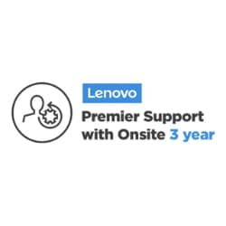 Lenovo Premier Support with Onsite NBD - extended service agreement - 3 yea