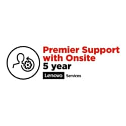 Lenovo Advanced Exchange + Premier Support - extended service agreement - 5