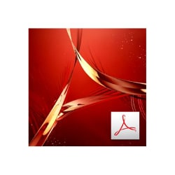 Adobe Acrobat Pro DC for teams - Team Licensing Subscription New (monthly)