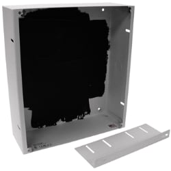AtlasIED Flush Mount Enclosure for IP Addressable Speakers with Displays