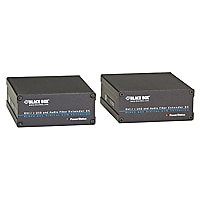 Black Box EC KVM Fiber Extender Kit - DVID, USB, Audio, Dual-Access