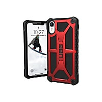 UAG Rugged Case for iPhone XR [6.1-inch screen] - Monarch Crimson - back co