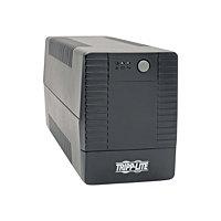 Tripp Lite 550VA 300W UPS Smart Tower Battery Back Up Desktop AVR USB 120V